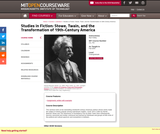 Studies in Fiction: Stowe, Twain, and the Transformation of 19th-Century America, Fall 2004