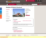 Analysis of Historic Structures, Fall 2004