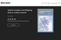 Spatial Analysis and Mapping with R: A Short Tutorial