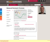 Advanced Stochastic Processes, Fall 2013